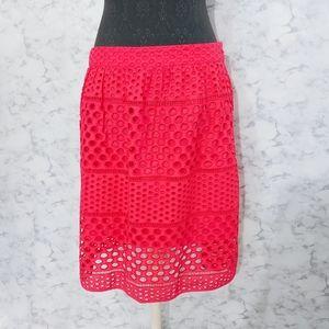 Bright Pink Loft Skirt